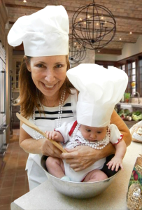 The Levine Girls in the Kitchen