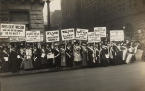 Suffragette Movement, 1913